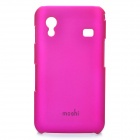 MOSHI Protective ABS Back Case w/ Screen Protector for Samsung Galaxy ACE / S5830 - Deep Pink