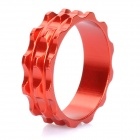 Aluminum Alloy Bicycle CNC Front Fork Washer - Red (28.6mm)