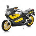 1:12 BMW K1200S Model Motorcycle for Display / Collection - Yellow + Black + Silver