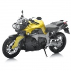 1:12 BMW K1300R Model Motorcycle for Display / Collection - Gold Yellow + Black
