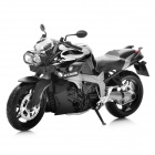 1:12 BMW K1300R Model Motorcycle for Display / Collection - Black + Grey