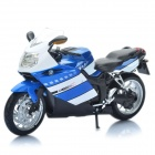 1:12 BMW K1200S Model Motorcycle for Display / Collection - Blue + Black