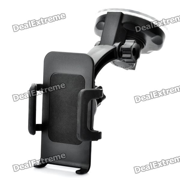 Universal Car Swivel Suction Cup Mount Holder for Cell Phone + More windshield universal swivel rotation car mount holder for cell phone gps psp iphone black