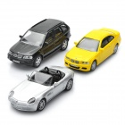 Model Car BMW M3 + Z8 + X5 Set for Display / Collection (3-Piece Pack)