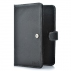 "Protective PU Leather Case w/ USB 80-Key Keyboard for 7"" Tablet PC - Black"