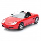 01.43 Porsche Boxster Model Car für Display / Collection - Red