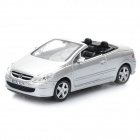 01.43 Peugeot Model Car für Display / Collection - Silber