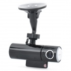 "5MP Wide Angle Car DVR Camcorder w/ Intelligent Voice Reminder / 2-LED Night Vision / TF (2"" LCD)"
