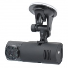 5MP CMOS Wide Angle Car DVR Camcorder w/ 8-LED Night Vision / HDMI / TF (2.4&quot; LCD)