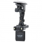 Wide Angle 1.3MP Car DVR Camcorder w/ 2-LED Night Vision / TF (2
