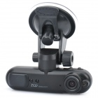 GS600 5MP CMOS Car Wide Angle DVR Camcorder w/ GPS Logger / Infrared Laser / HDMI / AV / TF