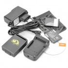 Portable Multi-Function ARM Quad-band GSM/GPRS/GPS Personal Position Tracker w/ SD - Grey