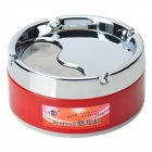Stainless Steel Rotatable Cover Cigarette Ashtray (Size-M)