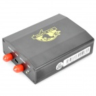 TK-103 Quad-Band GPRS / GSM / GPS Car Veículos Rastreador w / TF - Preto