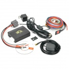 TK-103 Quad-Band GPRS/GSM/GPS Car Vehicle Tracker w/ TF - Black