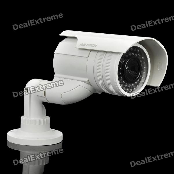 Camera White Light: Realistic Dummy Surveillance Security Camera W/ Blinking