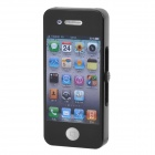 Cool iPhone 4 Style USB Rechargeable Electronic Cigarette Lighter - Black