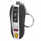 USB Rechargeable Electronic Cigarette Lighter Keychain - Black