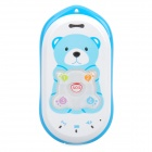 GK301 GPS GSM Cellphone for Kid w/ Quad-Band, Single SIM, SOS and Ultra-low Radiation - Blue