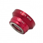 Universal 13mm Wide-Angle/0.67X Macro Lens Attachment for Digital Cameras & Cell Phones