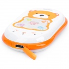 GK301 GPS GSM Cellphone for Kid w/ Quad-Band, Single SIM, SOS and Ultra-low Radiation - Orange
