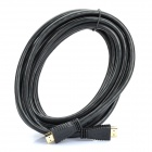 Designer's 24K Gold Plated HDMI 1.4 Male to Male Connection Cable (500cm)