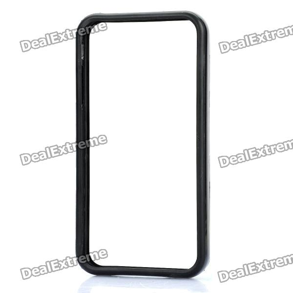 Protective TPU Bumper Frame for Iphone 4 / 4S - Black