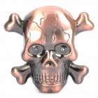 Skull Head Style Butane Jet Torch Lighter w/ Terrible Sound Laughter & Red Flashing Eyes