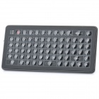 Mini Handheld Rechargeable 73-Key Bluetooth V2.0 Wireless QWERTY Keyboard - Black
