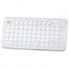 Mini Handheld Akku 73-Key Bluetooth V2.0 Wireless Keyboard - Silber