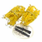 CSM-7 Car TPU Anti-skid Tire Protection Chain - Yellow (Pair)
