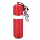 Mini Portable Oil Bottle Style Keychain - Random Color