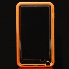 Protective Bumper Frame Case for Samsung Galaxy Note i9220 - Orange + Translucent