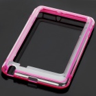 Protective Bumper Frame Case for Samsung Galaxy Note i9220 - Purple + Translucent