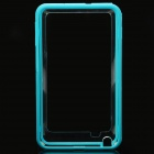 Protective Bumper Frame Case for Samsung Galaxy Note i9220 - Blue + Translucent