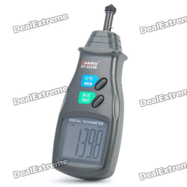 2.5 LCD Digital Tachometer (3 x AA) dt 2856 photo touch type tachometer dt2856