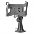 Car Swivel Suction Cup Mount Holder for Samsung i9220 - Black