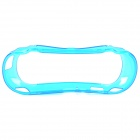 Silicon Rubber Protective Case for PS VITA - Translucent Blue