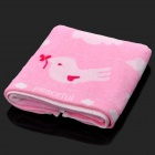 Soft Cotton Towel - Pink