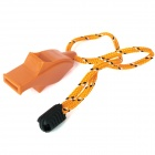 Dolphin Style Whistle with Strap - Random Color