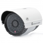 1/3 SONY CCD Surveillance Security Camera with 48-LED IR Night Vision - White + Grey (DC 12V)
