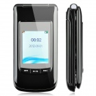 "M700 GSM TV Flip Phone w/ 2.4"" LCD Screen, Dual SIM, Quadband and FM Radio - Black"