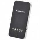 3G WiFi Wireless Router Server Card Reader for iPad / iPhone - Black