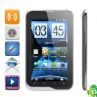"E9 Android 2.3 WCDMA TV Tablet Phone w/7.0"" Capacitive, Dual SIM, Wi-Fi and GPS - Black + Silver"
