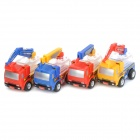 Colorful Transformers Car Vehicle to Robot Figure Toys (4-Pack)