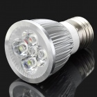 E27 5W 6400K 450-Lumen 5-LED White Light Bulb (AC 85~265V)