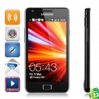 "Samsung I9100 Galaxy S II Android 2.3 WCDMA Smartphone w/ 4.3"" Capacitive and GPS - Black (16GB)"