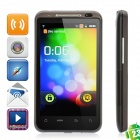 "QT-A05 Android OS V2.3 WCDMA Smartphone w/ 4.3"" LED Capacitive, GPS and Wi-Fi - Black"