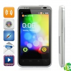 "QT-A05 Android OS V2.3 WCDMA Smartphone w/ 4.3"" LED Capacitive, GPS and Wi-Fi - White"