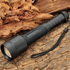 UltraFire T8 1000LM 3-Mode Zoom White LED Flashlight w/ Strap (1 x 18650 / 2 x 18650)